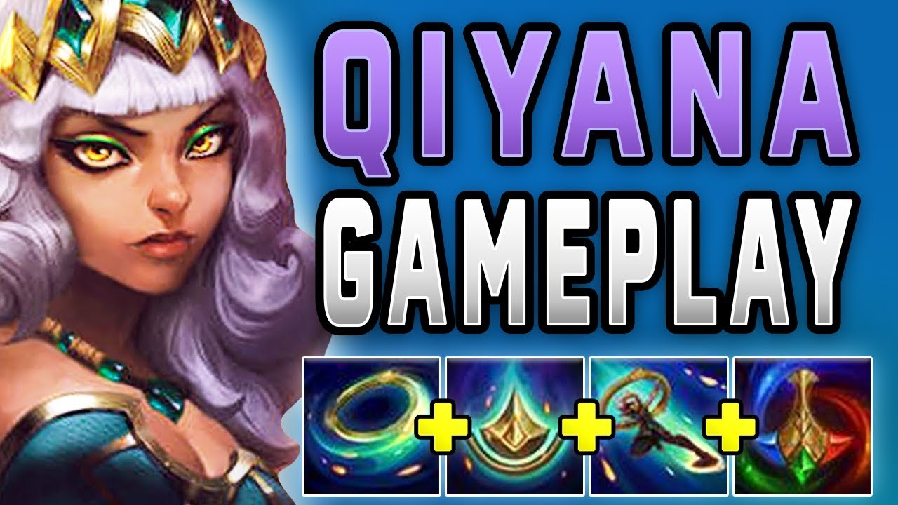 New champion Qiyana is actually broken    PBE Qiyana Gameplay