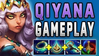 New champion Qiyana is actually broken... PBE Qiyana Gameplay