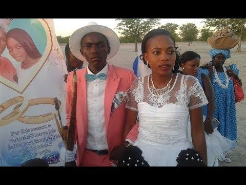 Asser Hamundja &  Emilia Andreas Wedding Day
