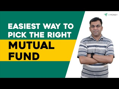 How to Pick the Right Mutual Fund Easily? | Choosing the Best Mutual Fund | ETMONEY