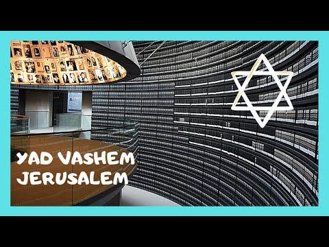 JERUSALEM: The HALL OF NAMES, HOLOCAUST MUSEUM (YAD VASHEM)