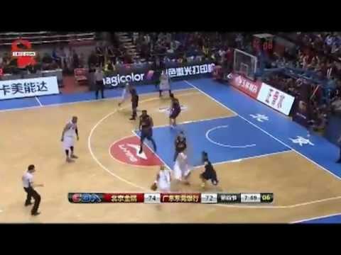 Stephone Marbury CBA Made Three 3pt Shots in 30 sec vs Guangdong