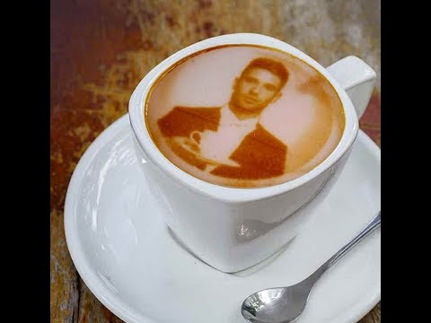 There is a restaurant in Lahore of coffee with your image.