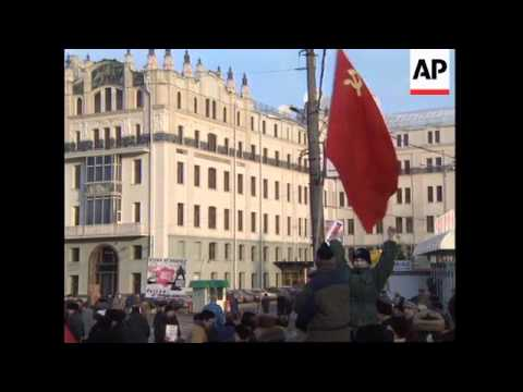 RUSSIA: MOSCOW: COMMUNISTS DEMAND END TO CHECHNYA WAR