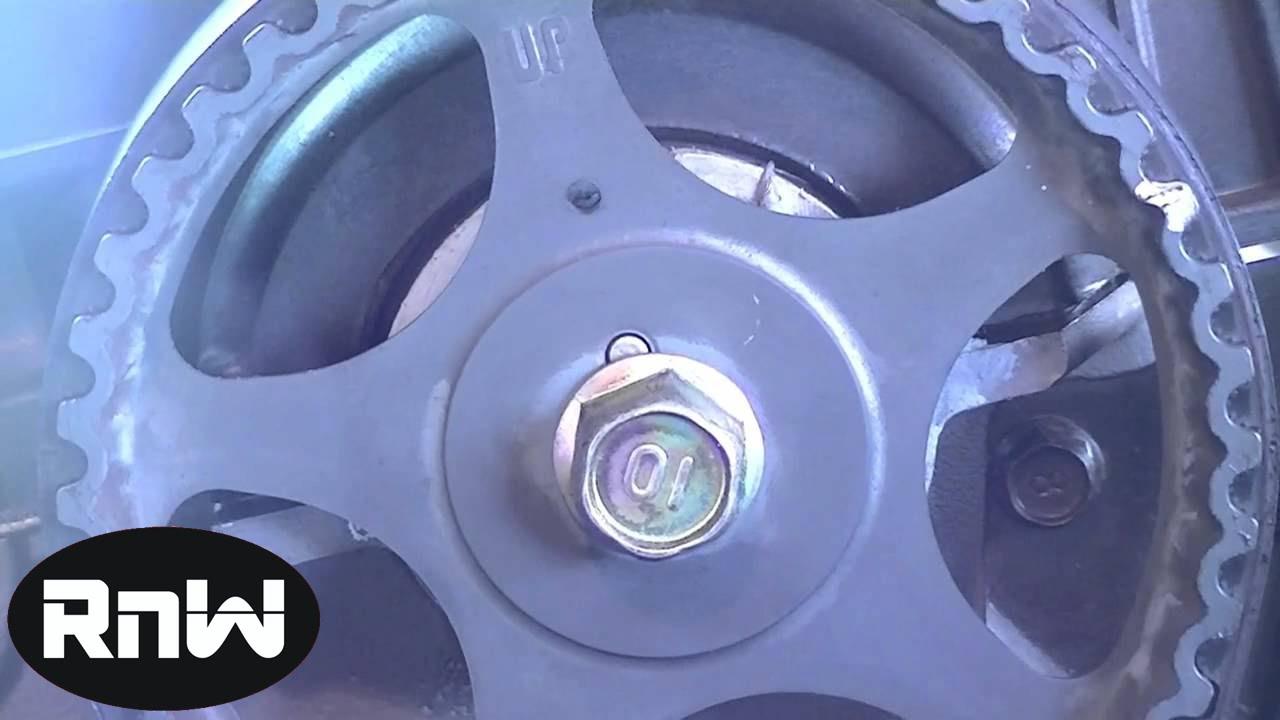 Hyundai Elantra Timing Belt Replacement Part 2  YouTube