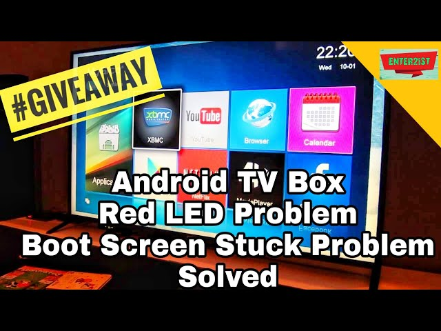 Android TV Box: How to install Firmware, Solved: Red LED Problem, Boot Screen Stuck Problem
