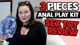 Anal Plug Toys For Beginners | 3 Piece Anal Play Kit | | Anal Sex Toys Reviews