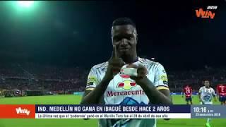 Tolima vs Medellín (Previa) Liga Aguila 2018-II | Semifinales Vuelta