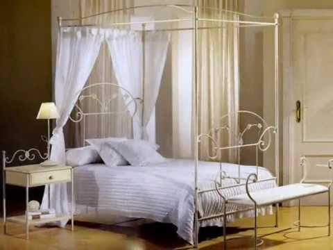 elegante himmelbetten deko ideen f r dein schlafzimmer youtube. Black Bedroom Furniture Sets. Home Design Ideas