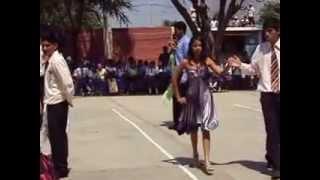 coreografia en I.E.Felipe Santiago Salaverry-picsi