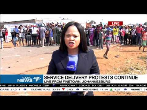 UPDATE: Series of protests continue around Johannesburg