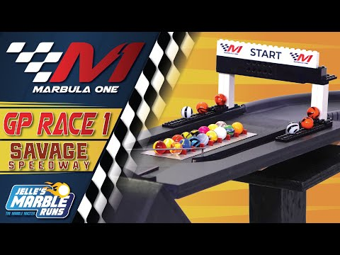 Marbula One: Savage Speedway GP (S1R1) - Marble Race by Jelle's Marble Runs