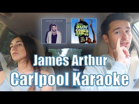 JAMES ARTHUR CARLPOOL KARAOKE & SUN COMES UP Ft. Rudimental | Reacción