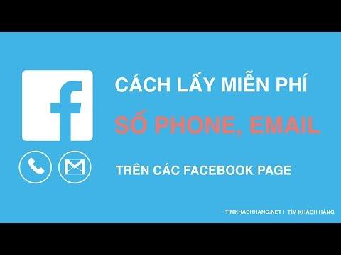 Số điện thoại trên facebook cách lấy miễn phí