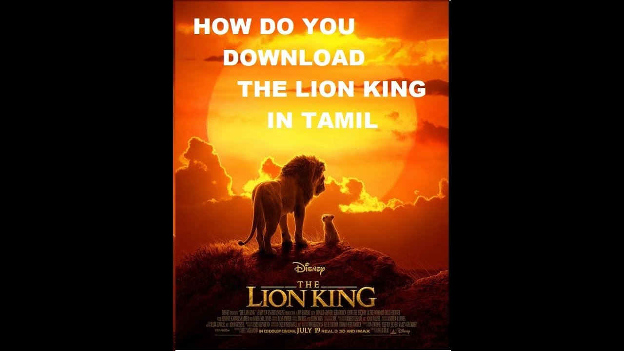 how do you download The Lion King 2019HQ DVDScr Tamil Dubbed x264 400MB1