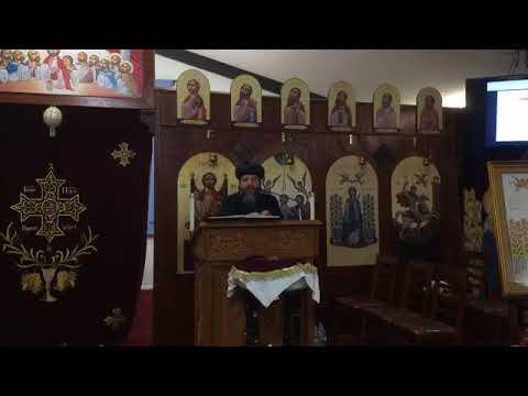 His Grace' Bishop Youssef's Sermon January 28, 2018 (Arabic)