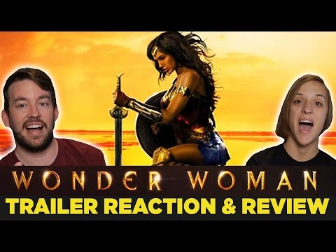 WONDER WOMAN Origin Trailer Reaction & Review!