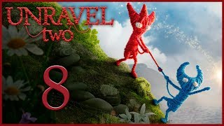 Unravel 2 - Кооператив - Tangled up in blue - Испытание 4 [#8] | PC