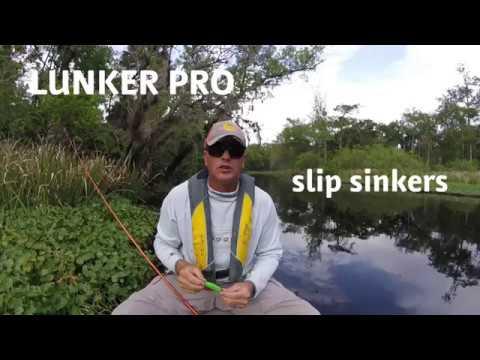 Kayak Fishing With The LUNKER PRO Slip Sinker Fishing Weight In Florida