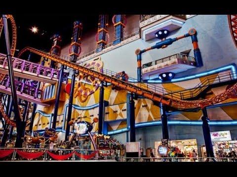 Berjaya Times Square Theme Park Indoor Roller Coaster in Malaysia
