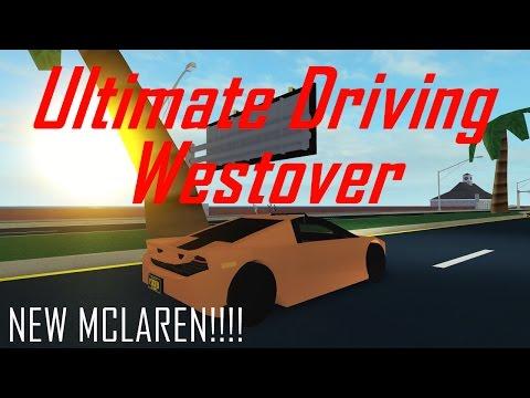 NEW MCLAREN!!! || ROBLOX - Ultimate Driving Westover Islands