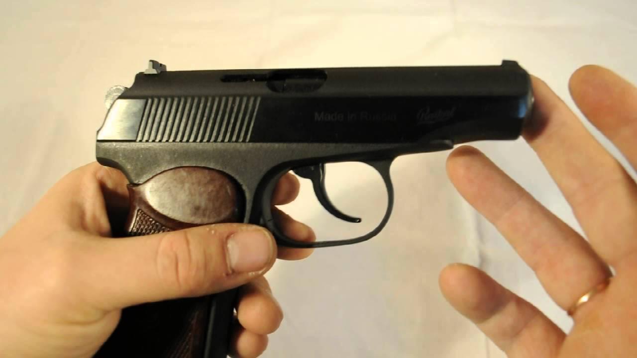 Полная разборка и сборка пневматический пистолет Макарова MP 654К .