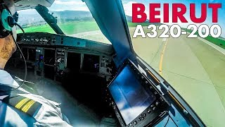 Piloting the Airbus A320 out of Beirut