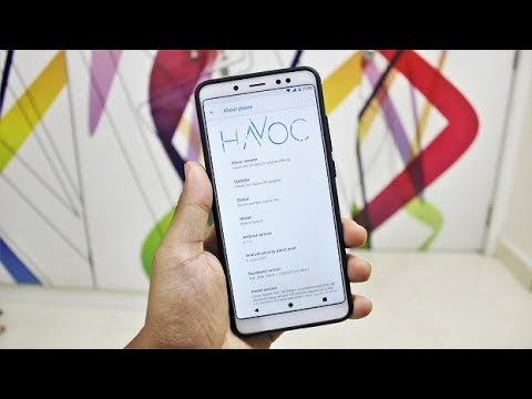Official Havoc OS For Redmi Note 5 Pro!