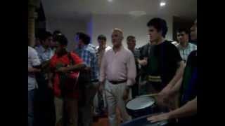 """Batucada """"Barulho Do Samba"""". Fiesta Privada empresa """"Sodimac"""". Salón Haiku. 11/12/2012."""