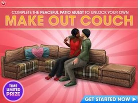 Make Out Couch - The Sims FreePLAY
