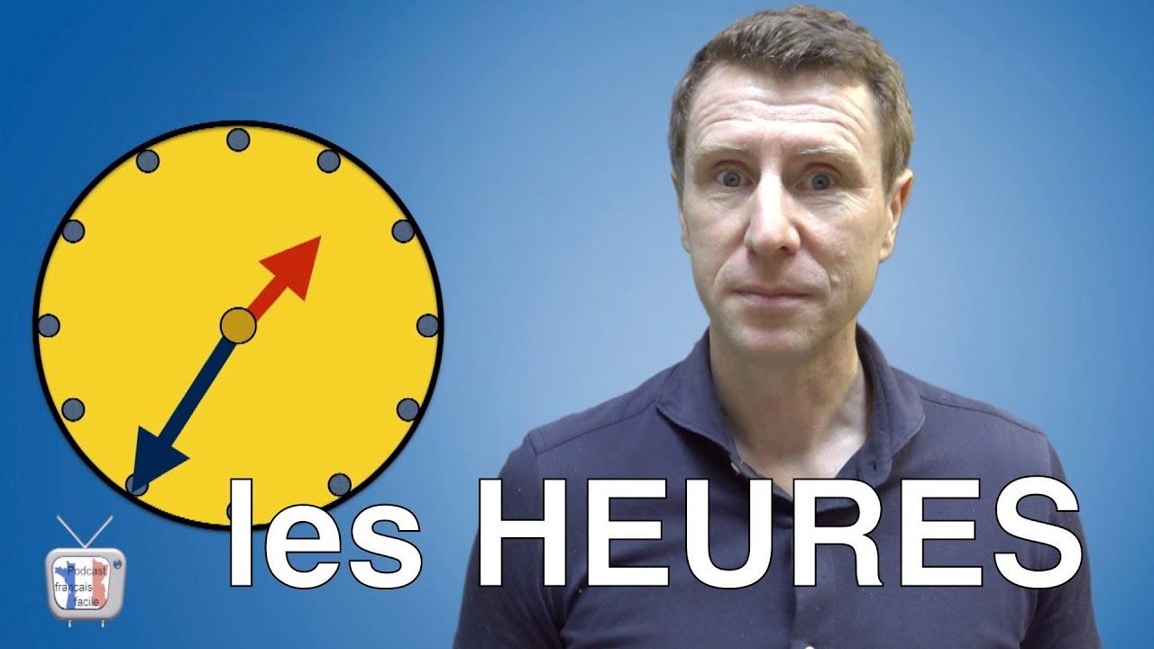 Download Dire/demander l'heure - Apprendre les heures en français