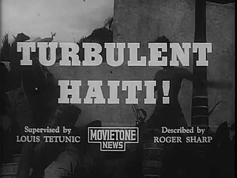 Turbulent Haiti (1962) | Newsreel Footage