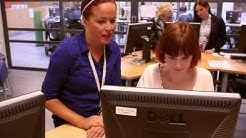 Verkkoneuvontaa ja Sanssi-mahdollisuuksia TE-toimistossa