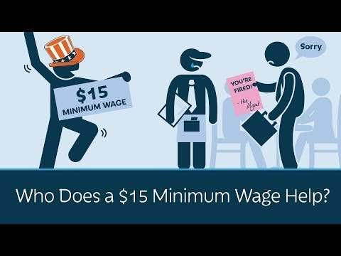 Raise the Minimum Wage to $15 Per Hour