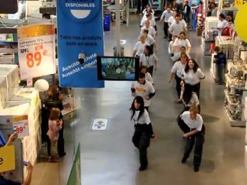 flashmob castorama lormont youtube
