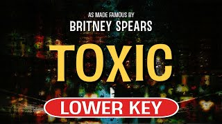 Enjoy singing along with this karaoke version of toxic as made famous by britney spears. (lower key version)toxic is a song originally recorded sp...