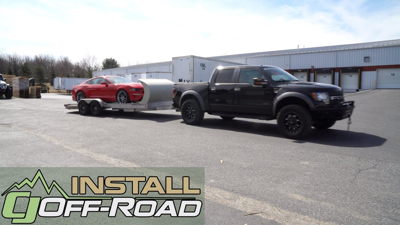 2013 F150 Towing Capacity >> Eliminate Tow Sag On Your 2010 2014 F 150 Raptor With A Timbren Rear Ses Suspension Upgrade Install