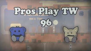 Teeworlds - Pros play TW 96: Easy finish run
