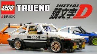 頭文字D RC LEGO Toyota Trueno AE86 Initial D with Sbrick. Madoka inside:)