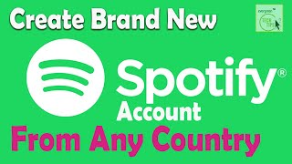 How To Sign Up Spotify 2021: How To Create New Spotify Account