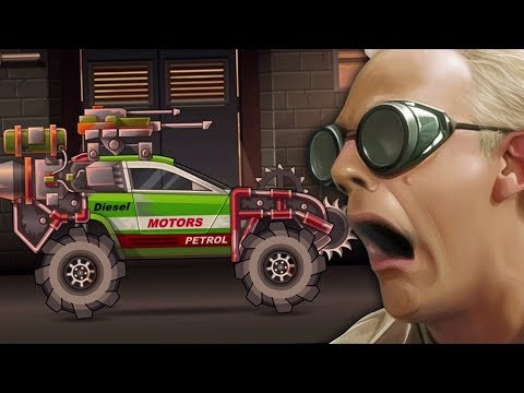 THE GREEN MACHINE - Earn to Die 2 Mobile #3