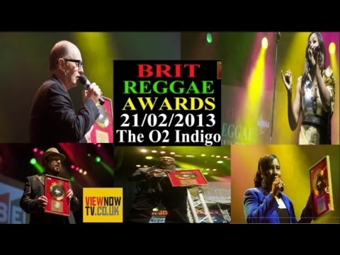 British Reggae Industry Awards, 2013. ViewNowTv/BRI