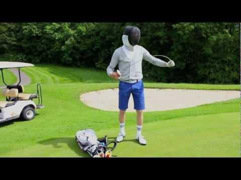 The Fencer: duel vs Julien Guerrier (Golf)