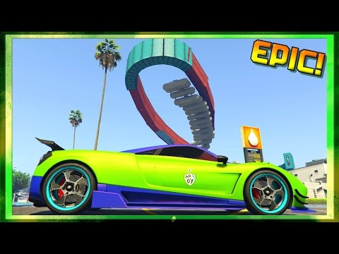 EXPLOSIVE WALLRIDES!!! GTA 5 BEST RACES (GTA 5 Funny Moments)