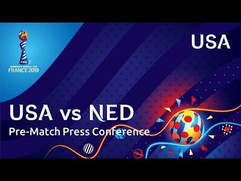 USA v. NED - USA Pre-Match Press Conference