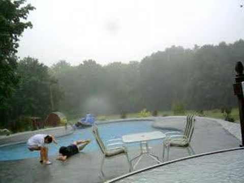 Lightning And Pools Dont Mix Youtube