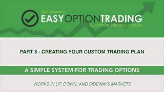 Easy Option Trading: Creating Your Custom Trading Plan [Part 5 of 6]