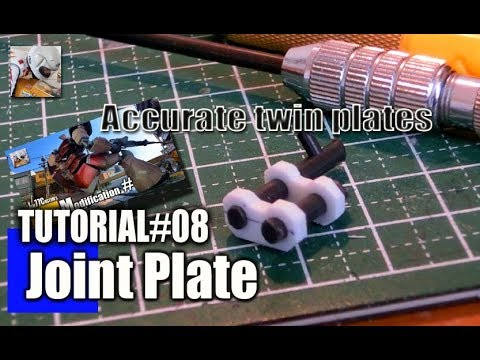 Tutorial: How to make Joint plates (accurate modification joint)