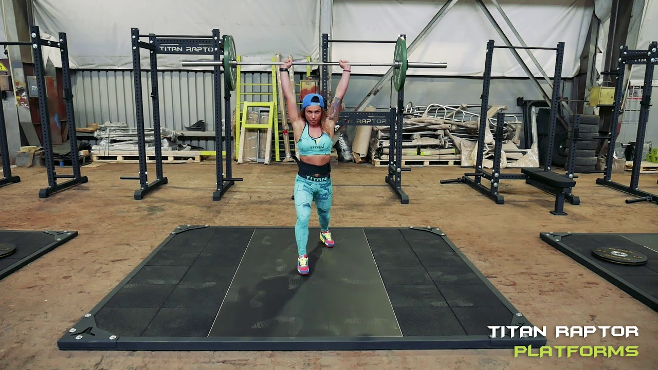 Garage Gym Reviews Diy Platform Titan Fitness Raptor Platforms