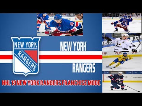 NHL 19 NEW YORK RANGERS FRANCHISE MODE EPISODE 10: PLAYOFFS + LIAS F****** ANDERSSON!!!!